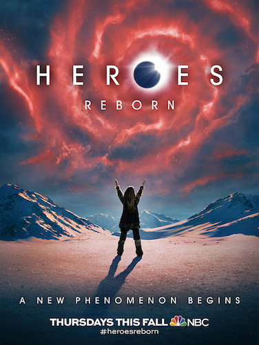 Heroes Reborn NBC Official Poster