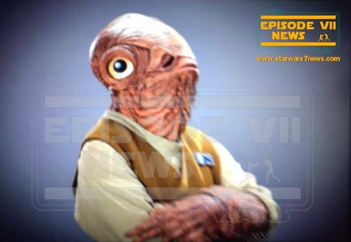 Admiral Ackbar Star Wars The Force Awakens