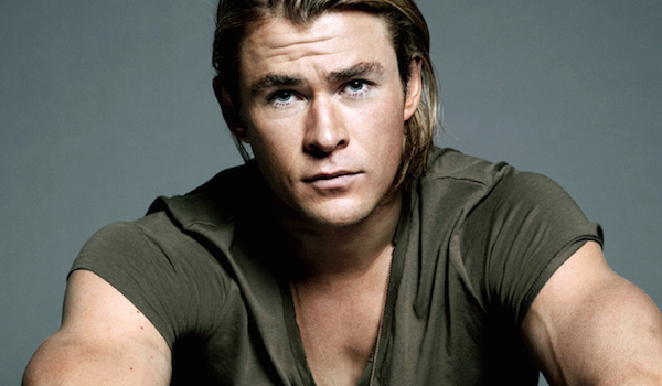 Chris Hemsworth Long Hair Muscle