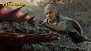 Emilia Clarke Riding Dragon Game of Thrones The Dance of Dragons
