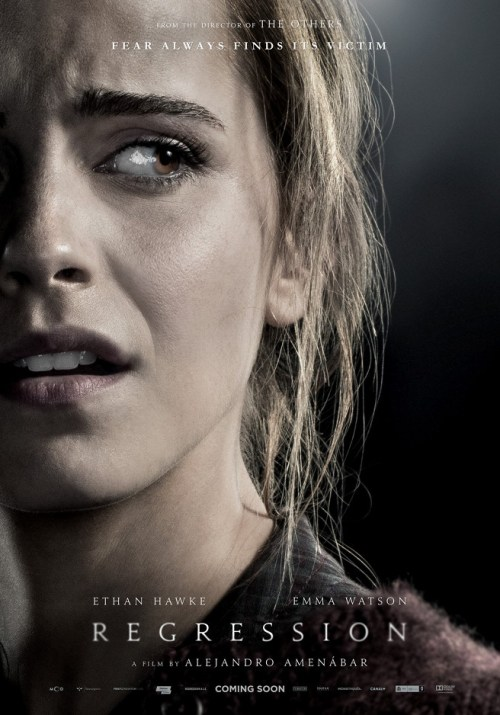 Emma Watson Regression Poster