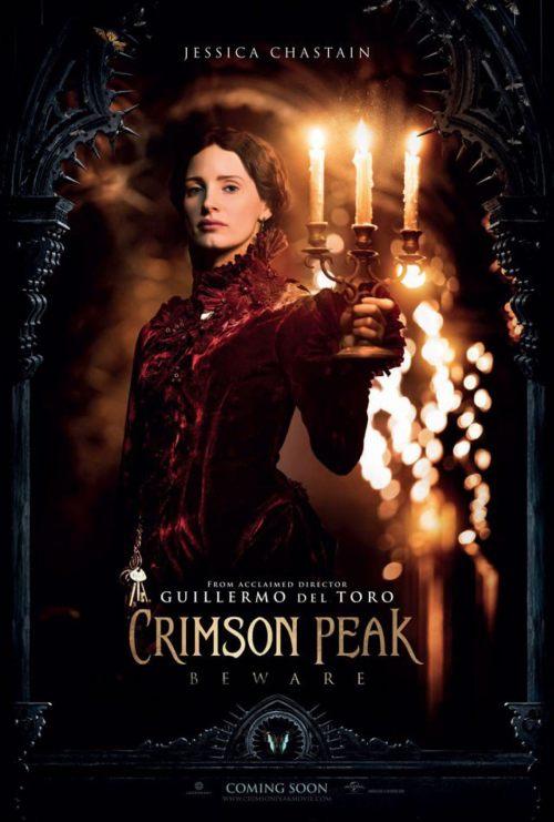 Jessica Chastain Crimson Peak