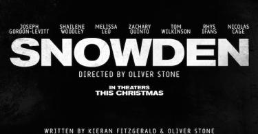 Snowden Movie Logo