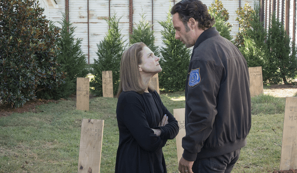 Tovuh Feldshuh Andrew Lincoln The Walking Dead Try