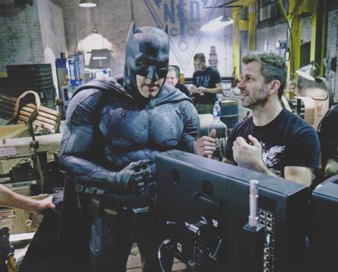 Batman v Superman Ben Affleck Zack Snyder