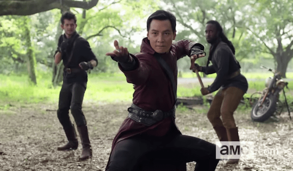 Daniel Wu Into the Badlands