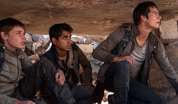 Dylan O'Brien Ki Hong Lee Jacob Lofland Maze Runner The Scorch Trials