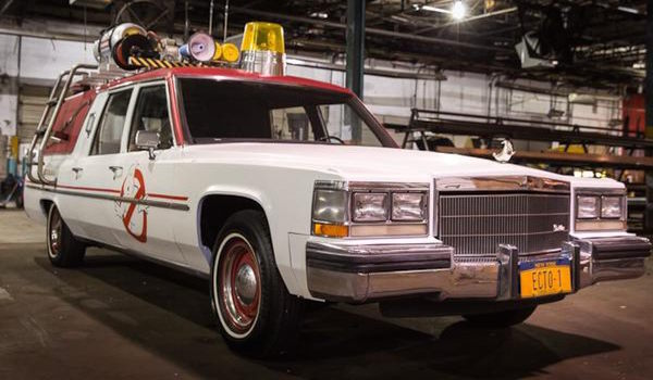 Ghosbusters Car Revealed