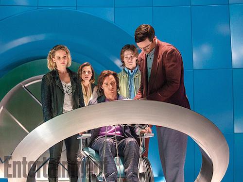Jennifer Lawrence Rose Byrne James McAvoy Lucas Till Nicholas Hoult X-Men: Apocalypse