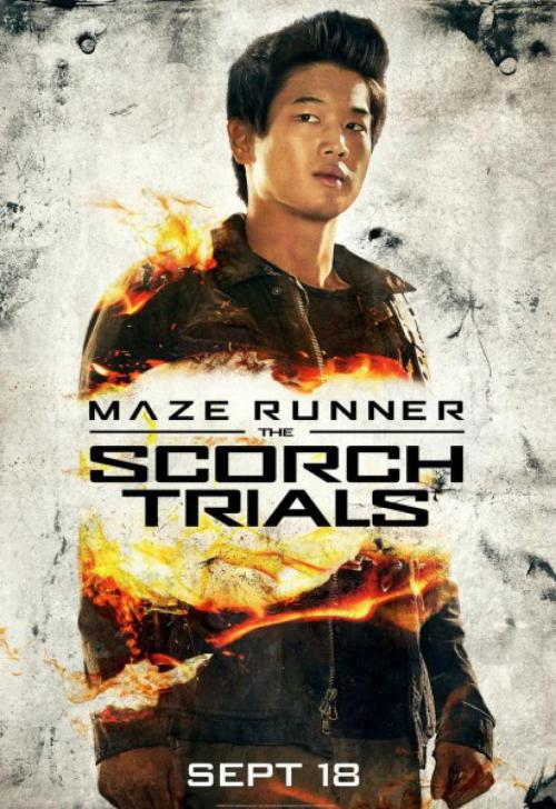 Ki Hong Lee Maze Runner The Scorch Trials poster