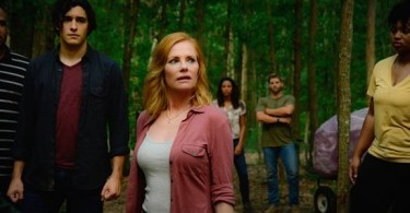 Marg Helgenberger Alexander Koch Kylie Bunbury Mike Vogel Under the Dome Breaking Point