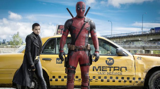 Ryan Reynolds Brianna Hildebrand Deadpool
