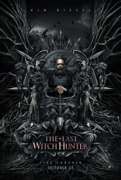 The Last Witch Hunter Posters