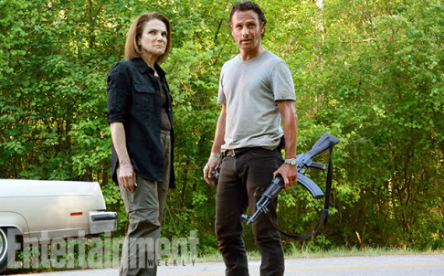 Tovah Feldshuh Andrew Lincoln The Walking Dead