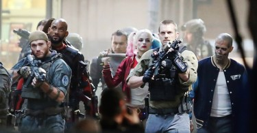 Will Smith Joel Kinnaman Margot Robbie Suicide Squad Set