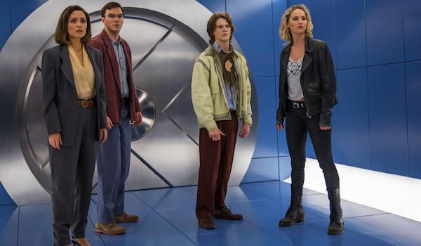 Rose Byrne Nicholas Hoult Lucas Till Jennifer Lawrence X-Men Apocalypse