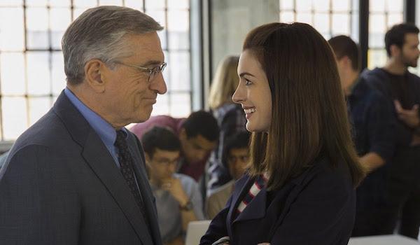 Anne Hathaway Robert De Niro The Intern