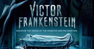 Victor Frankenstein UK Poster Arrives