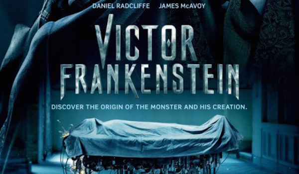 Victor Frankenstein UK Poster Arrives