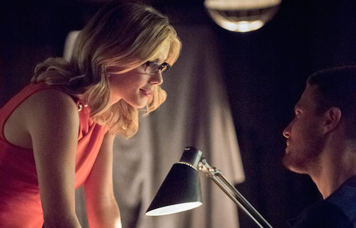 Emily Bett Rickards Stephen Amell Arrow Season 4