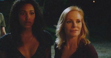 Kylie Bunbury Marg Helgenberger Under the Dome Plan B