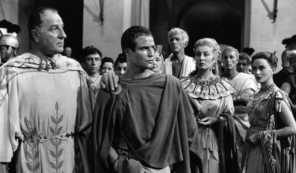 Louis Calhern Marlon Brando Julius Caesar