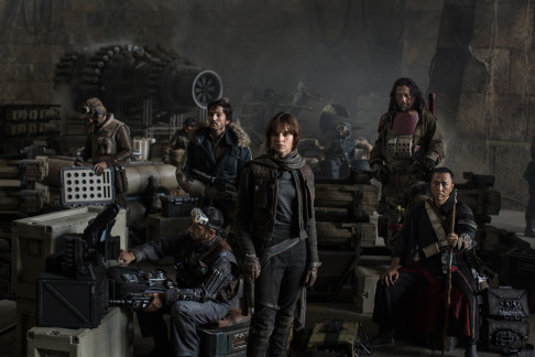 Riz Ahmed Diego Luna Felicity Jones Jiang Wen Donnie Yen Star Wars Anthology: Rogue One