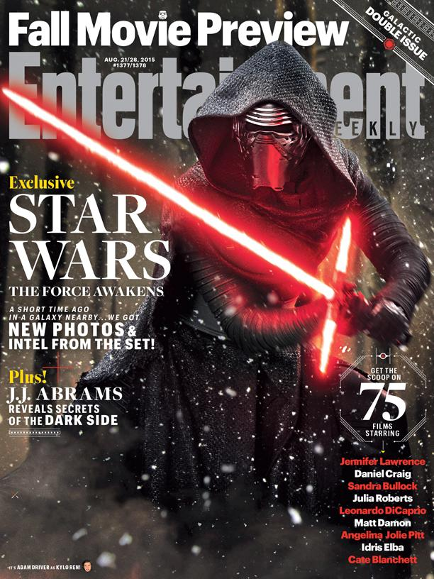 Star Wars Force Awakens EW Cover