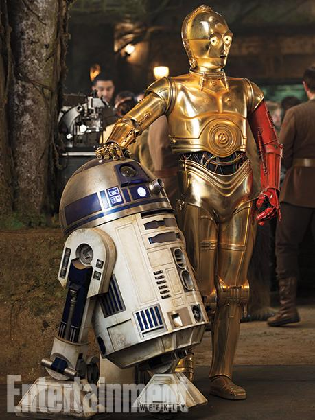 Star Wars The Force Awakens R2D2 & C3P0