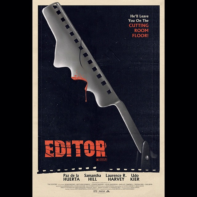 The Editor Poster