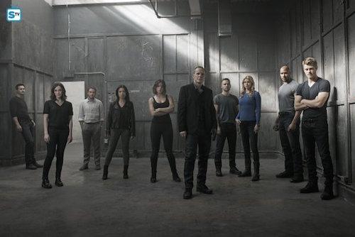 Agents of SHIELD Season 3 Cast Photo