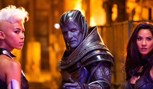 Alexandra Shipp Oscar Isaac Olivia Munn X-Men Apocalypse