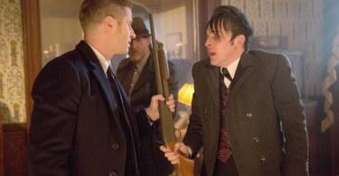 Ben McKenzie Robin Lord Taylor Gotham Everyone Has A Cobblepot