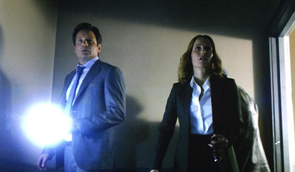 David Duchovny Gillian Anderson The-X-Files