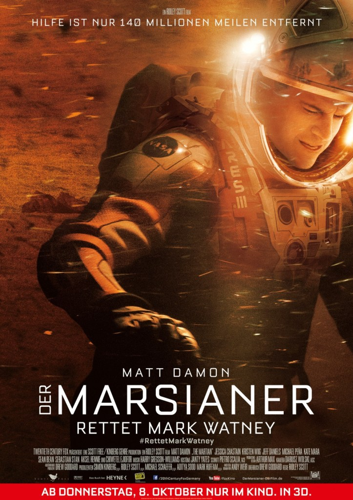 The Martian International Posters