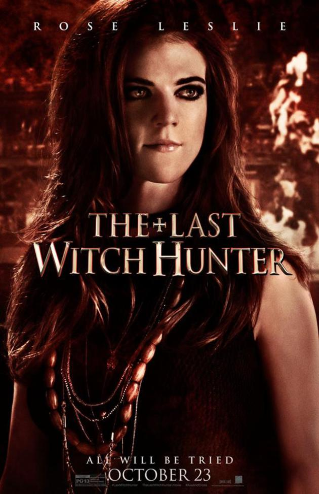 The Last Witch Hunter Character Posters