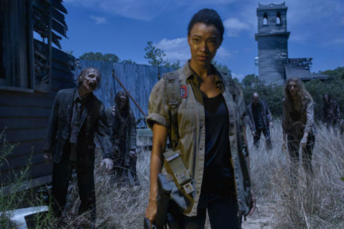 Sonequa Martin-Green The Walking Dead Season 6