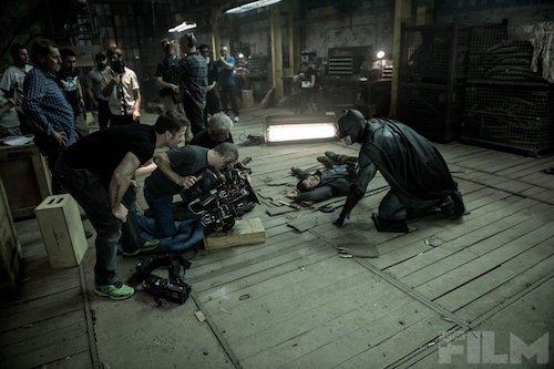 Batman v Superman Zack Snyder Ben Affleck Total Film Photo