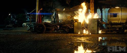 Batman v Superman Henry Cavill Ben Affleck Total Film Photo