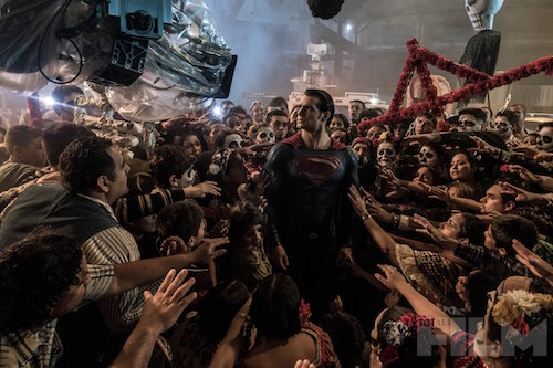 Batman v Superman Henry Cavill Total Film Photo
