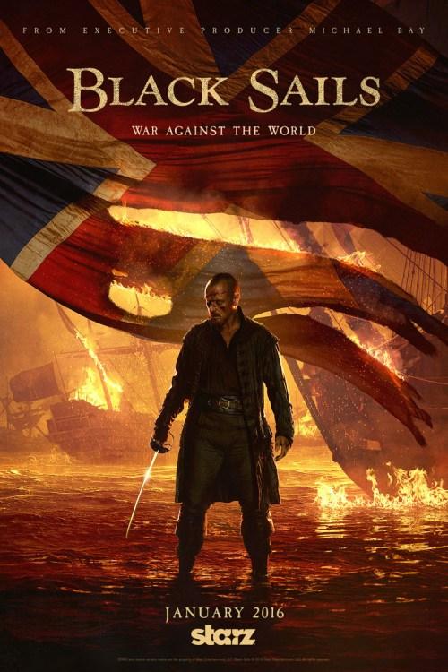 Black Sails Season 3 TV show poster