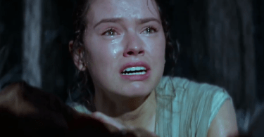 Daisy Ridley Crying Star Wars The Force Awakens