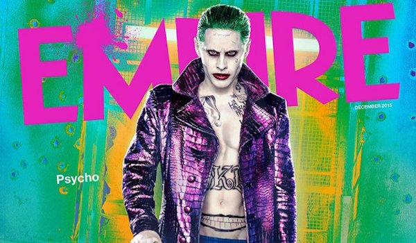 Jared Leto The Joker Suicide Squad Empire Cover