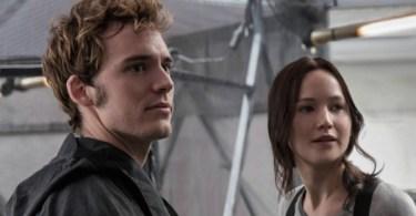 Jennifer Lawrence Sam Claflin The Hunger Games Mockingjay Part 2