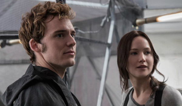 Jennifer Lawrence Sam Claflin The Hunger Games Mockingjay Part 2