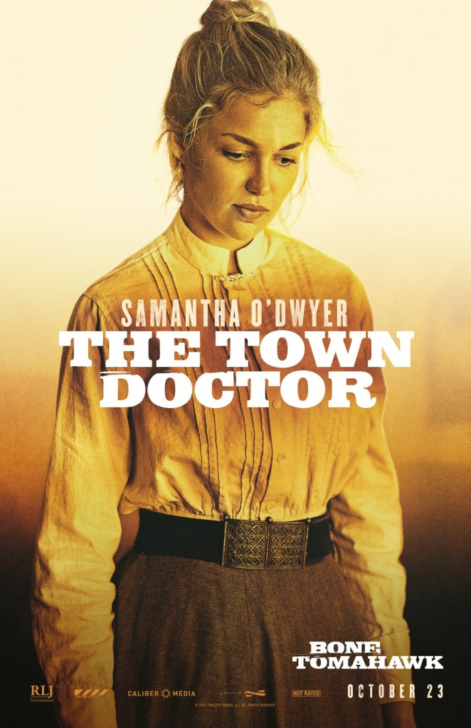 Lili Simmons In Bone Tomahawk Poster