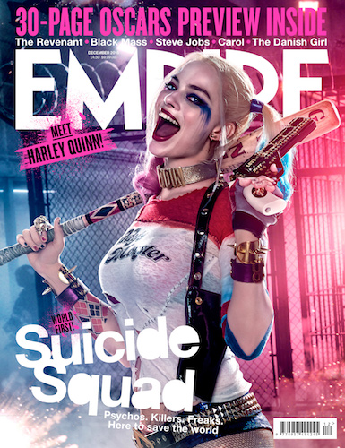 Margot Robbie Harley Quinn Suicide Squad Empire Cover