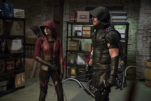 Stephen Amell Willa Holland Arrow The Candidate