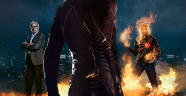 The Flash Poster Victor Garber Grant Gustin Franz Drameh