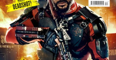 Will Smith Deadshot Suicide Squad Empire Cover